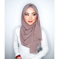 Instant shawl Luxe V2 Chiffon (Taupe)