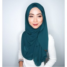 Instant shawl Luxe V2 Chiffon (Atlantis Teal)