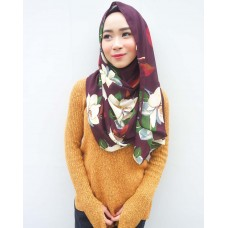 Instant shawl Luxe V2 (Printed series: Chloe)