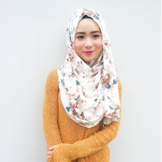 Instant shawl Luxe V2 (Printed series: Maysa)