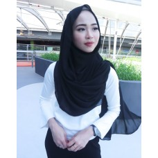 Instant Shawl Embellished (Casual Series) : Black