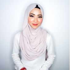 Instant Shawl Embellished (Casual Series) : Just Beige