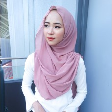 Instant Shawl Embellished (Casual Series) : Mauve Pink