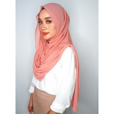 Instant Shawl Embellished (Casual Series) : Pomegranate