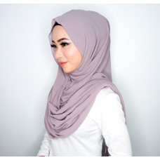 Instant Shawl Embellished (Casual Series) : Dusty Purple