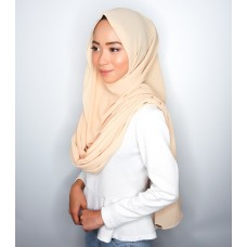 Instant Shawl Embellished (Casual Series) : Honey Beige