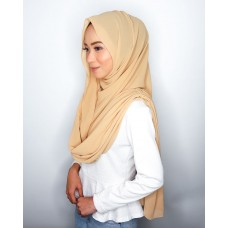 Instant Shawl Embellished (Casual Series) : Caramel Brown
