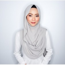 Instant Shawl Embellished (Casual Series) : Heather Grey