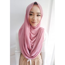 Instant Shawl Embellished (Casual Series) : Berry Crush