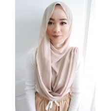 Instant Shawl Embellished (Casual Series) : Latte