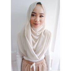 Instant Shawl Embellished (Casual Series) : Meringue