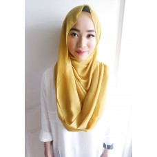 Instant Shawl Embellished (Casual Series) : Mustard