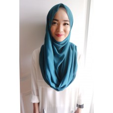 Instant Shawl Embellished (Casual Series) : Teal