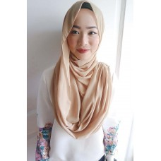 Instant Shawl Embellished (Casual Series) : Peanut Butter