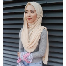Instant Shawl Embellished (Casual Series) : Butternut