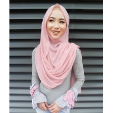 Instant Shawl Embellished (Casual Series) : Desert Rose