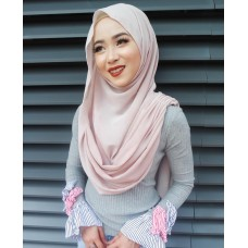 Instant Shawl Embellished (Casual Series) : Perfect Plum