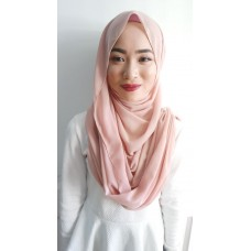 Instant Shawl Embellished (Casual Series) : Blush