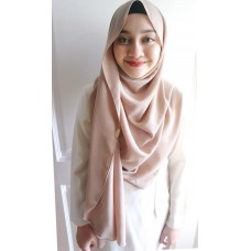 Instant shawl Fleur (Toasted Marshmallow)