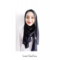 Instant shawl Luxe (Black)