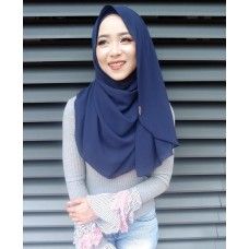 Instant shawl Luxe V2 (Navy Blue)