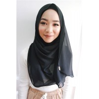 Instant shawl Luxe V2 (Black)