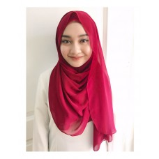 Instant shawl Luxe V2 (Cranberry Red)