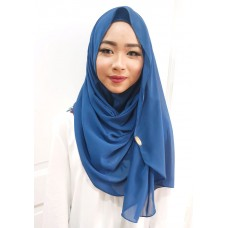 Instant Shawl Luxe V2 (Marine Blue)