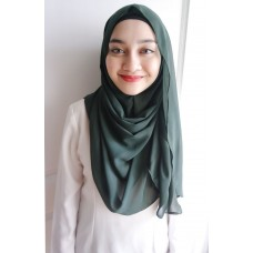 Instant shawl Luxe V2 (Hunter green)