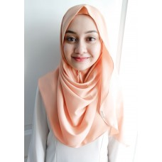 Instant shawl Luxe V2 (Glitter in Salmon Bisque)