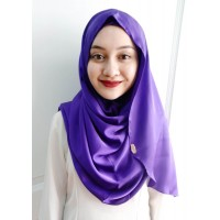 Instant shawl Luxe V2 (Glitter in Purple Charm)