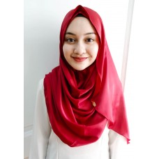 Instant shawl Luxe V2 (Glitter in Scarlet)