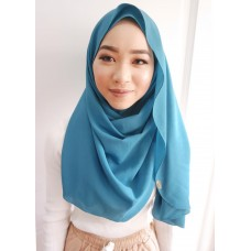 Instant shawl Luxe V2 (Vintage Teal)