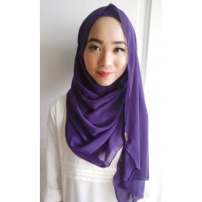 Instant shawl Luxe V2 (Mangosteen)