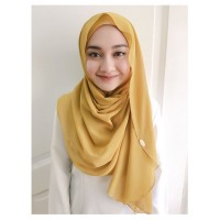 Instant shawl Luxe V2 (Mustard)