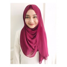 Instant shawl Luxe V2 (Red Berries)