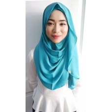 Instant shawl Luxe V2 (Glitter in Blue Wish)