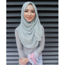 Instant shawl Luxe V2 (Glitter in Jewel)