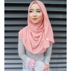 Instant shawl Luxe V2 (Dusty Pink)