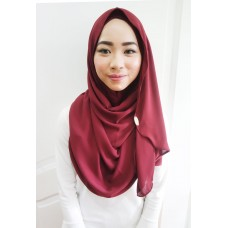 Instant shawl Luxe V2 (Aubergine)
