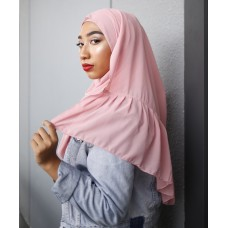 Instant Shawl Rania (Casual Series: Dusty Pink)