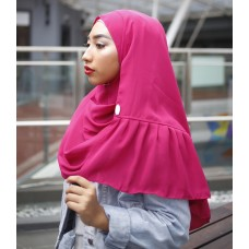 Instant Shawl Rania (Casual Series: Pink Stunner)
