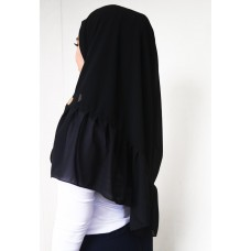 Instant Shawl Rania (Casual Series: Black Widow)
