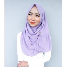 Instant Shawl Rania (Casual Series: Dusty Purple)
